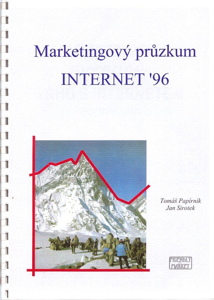 První studie Internetu realizovaná ještě pod tehdejší názvem Friendly Market